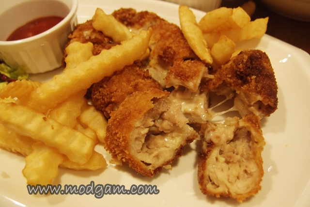 Cheesy Ayam Cutlet