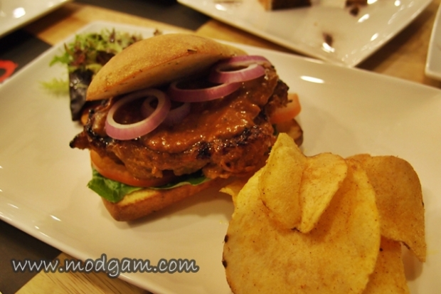 Spicy Rendang Chicken Sandwich