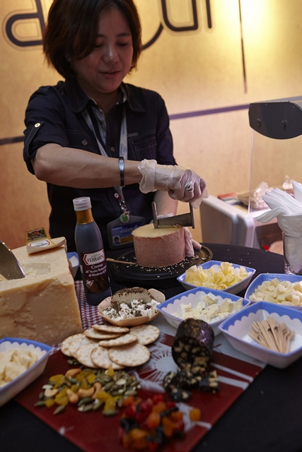 Enjoy gourmet cheese and look forward to experiencing the pinnacle of quality at Savour 2013