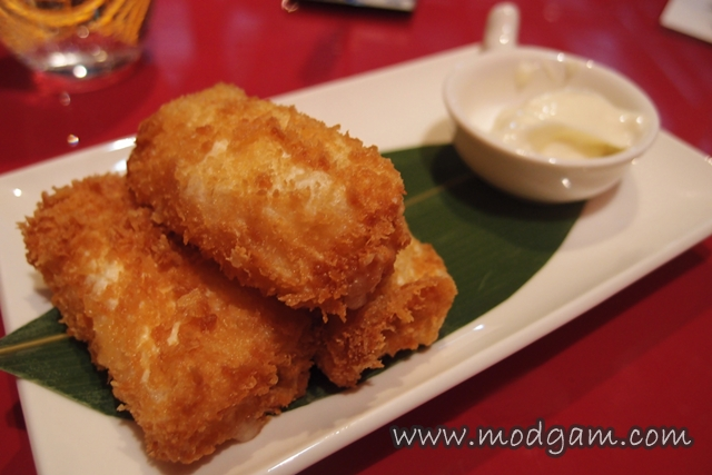 Deep fried Prawn Roll with cheese