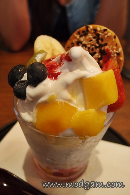 Fruits Parfait